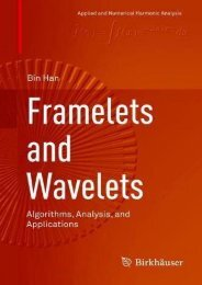 [+][PDF] TOP TREND Framelets and Wavelets: Algorithms, Analysis, and Applications (Applied and Numerical Harmonic Analysis)  [READ]