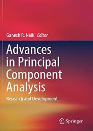 [+][PDF] TOP TREND Advances in Principal Component Analysis: Research and Development  [NEWS]