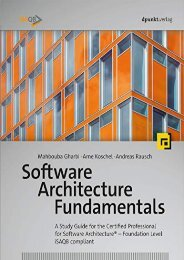 [+]The best book of the month Software Architecture Fundamentals: A Study Guide for the Certified Professional for Software Architecture(r) - Foundation Level - Isaqb Compliant  [READ]