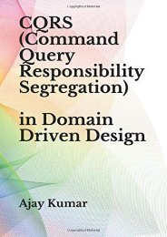 [+]The best book of the month CQRS (Command Query Responsibility Segregation) [PDF]