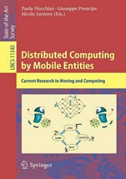 [+]The best book of the month Distributed Computing by Mobile Entities: Current Research in Moving and Computing (Lecture Notes in Computer Science)  [READ]
