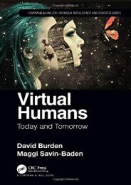 [+]The best book of the month Virtual Humans: Today and Tomorrow (Chapman   Hall/CRC Artificial Intelligence and Robotics Series) [PDF]