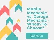 Mobile Mechanic in Narre Warren