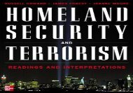 ((DOWNLOAD)) EPUB  Homeland Security and Terrorism: Readings and Interpretations (The Mcgraw-Hill Homeland Security Series) (English Edition) EPUB/PDF