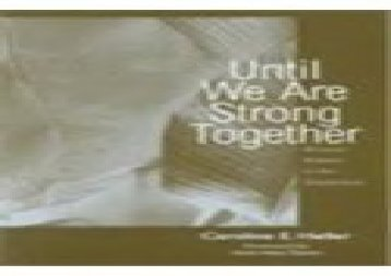 [read ebook] Until We Are Strong Together: Women Writers in the Tenderloin (Language   Literacy) (ebook online)