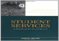 [read ebook] Student Services: A Handbook for the Profession (Jossey-Bass Higher and Adult Education Series) EBook