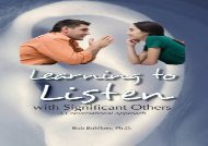 DOWNLOAD EBOOK  Learning to Listen: With Significant Others Update Ebook Read online Get ebook Epub Mobi