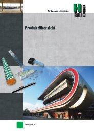 Produktübersicht (1.6 mb) - H-Bau Technik GmbH