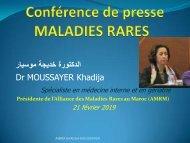Conférence de presse maladies rares 21 février 2019