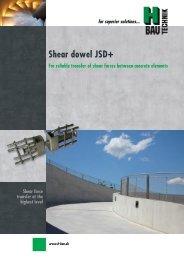 Shear dowel JSD+ english - H-Bau Technik GmbH