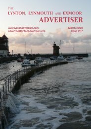 Lynton,  Lynmouth and Exmoor Advertiser, March 2019