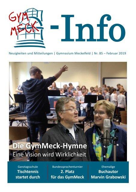 GymMeck-Info Nr. 85 - Februar 2019