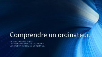 Comprendre un ordinateur