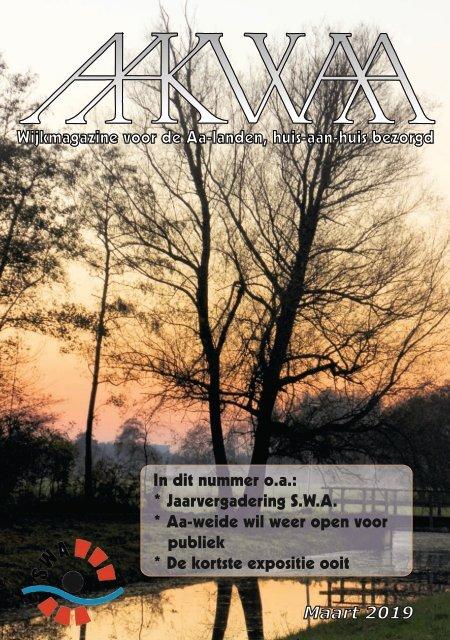 Wijkblad Aakwaa maart 2019
