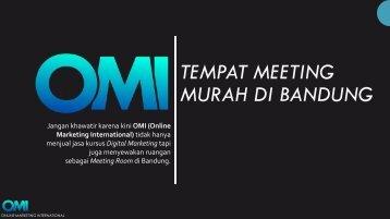 +6282216308161 | TEMPAT MEETING MURAH DI BANDUNG