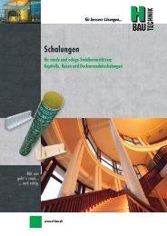 Schalungen 07:Layout 1.qxd - H-Bau Technik GmbH