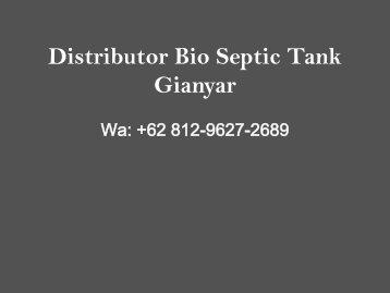 Pabrik, Wa +62 812-9627-2689, Bio Septic Tank Payangan, Gianyar