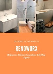 Getting Started with Bathroom Renovation in Melbourne? Here's what you should know!