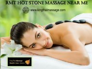 RMT Hot Stone Massage Near Me – Toronto