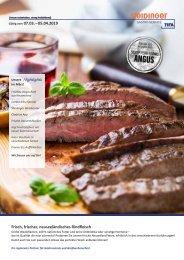 Steidinger Gastro Service – Monatsangebot März