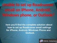 Roadrunner email issues or setting (1)