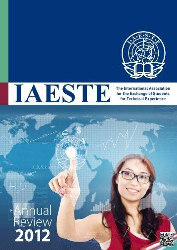 IAESTE A.s.b.l. Annual Review 2012