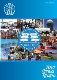 IAESTE A.s.b.l. Annual Review 2014