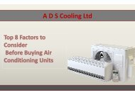 Top 8 Factors to Consider Before Buying Air Conditioning Unit