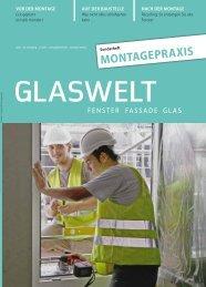 GLASWELT Sonderheft Montagepraxis 2013