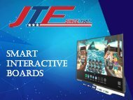 Buy Smart Interactive Boards from JTF Business Systems
