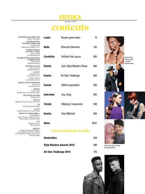 Estetica Magazine WORLD Edition (3/2018)