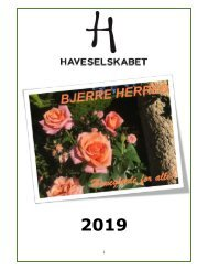 Årsprogram 2019 Bjerre Herred Kreds