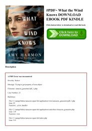 #PDF~ What the Wind Knows DOWNLOAD EBOOK PDF KINDLE