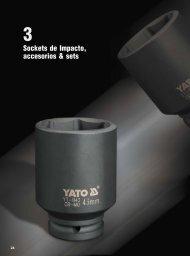 Catálogo de Sockets de Impacto, Accesorios y Sets Yato by Carbone