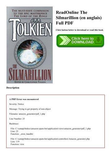 Silmarillion Deutsch Ebook