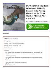 Fiendish Codex II pdf - Play Role Online