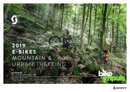 bikeimpuls SCOTT E-Bike Katalog 2019