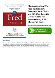 The fred factor free pdf