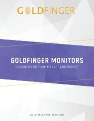 Goldfinger Catalog 2020