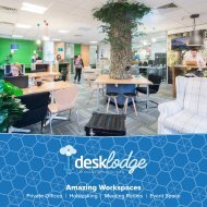 DeskLodge Brochure