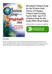 Chicken Soup For The Soul True Love Pdf