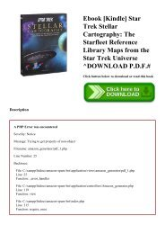 Ebook [Kindle] Star Trek Stellar Cartography The Starfleet Reference Library Maps from the Star Trek Universe ^DOWNLOAD P.D.F.#
