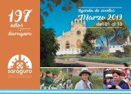 Agenda de Eventos Saraguro 2019