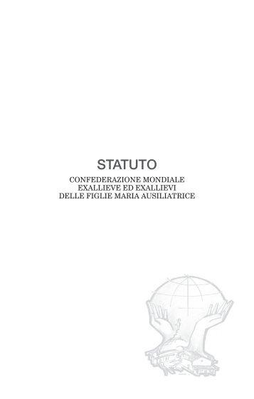 Statuto Exal.  FMA 2015