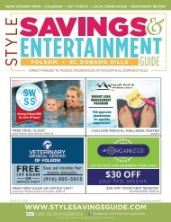 Style Savings and Entertainment Guide: March 2019