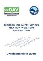 DAV Weilheim Jahresbericht 2018 - Seite 3
