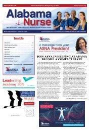 Alabama Nurse - March 2019