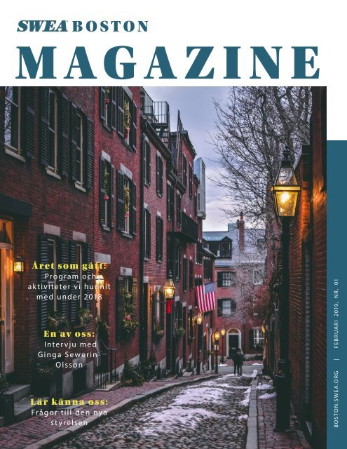 SWEA Boston Magazine - Feb2019