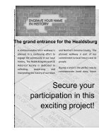 Healdsburg Museum Commemorative Walkway Project - Page 2