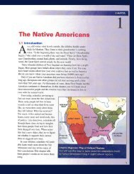 CHAPTER 1 The Native Americans